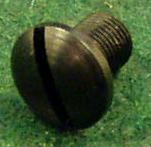 Rearsight retaining screw