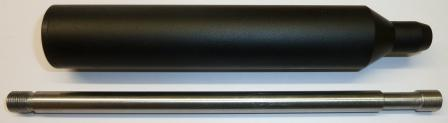 Barrel and silencer package Alecto .22