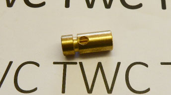 BARREL BRASS INLET, .22 Cal.