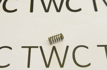 First stage trigger spring