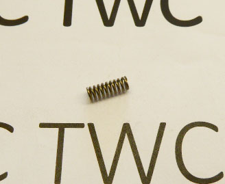 Second stage trigger spring