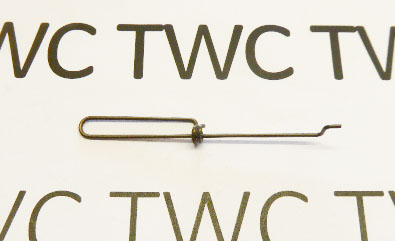 Index lever connector spring