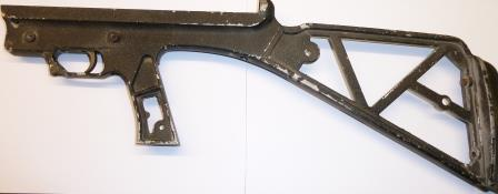 Frame with complete trigger asembly