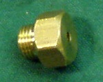 Air cylinder brass end nut.