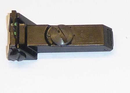 Fibre optic rear sight for deluxe models